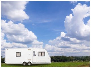 Twnti Touring Caravan and Camping Park, Self Catering Holiday